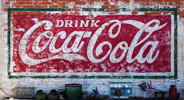 Real Ghosts Wall Art - Photograph - Drink Coca-cola #1 by Stephen Stookey
