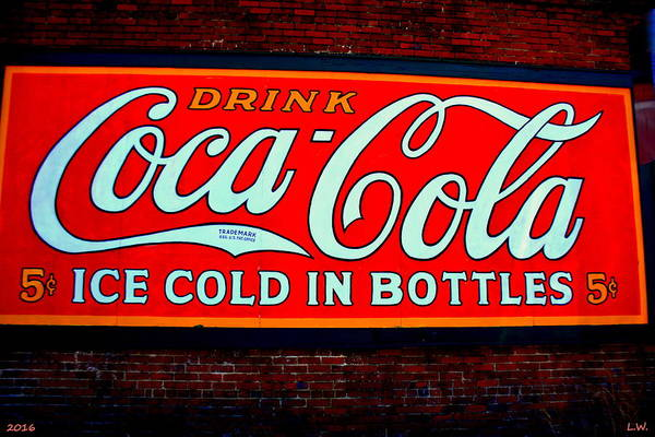 Photograph - Drink Coca Cola by Lisa Wooten