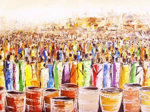 Drink Festival Art Print