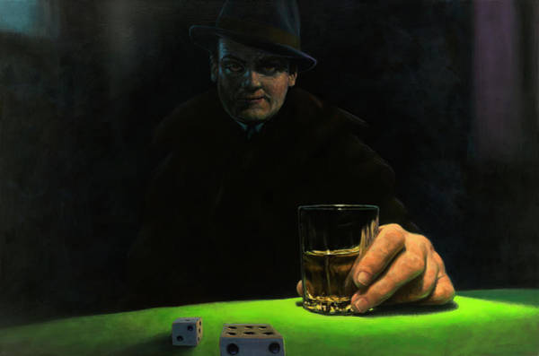 Painting - Drinking by James W Johnson