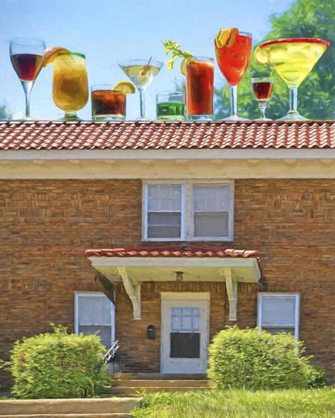 Cube House Wall Art - Photograph - Drinks On The House by Nikolyn McDonald
