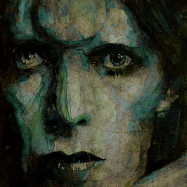 Bowie Painting - Drive In Saturday@ 2 by Paul Lovering