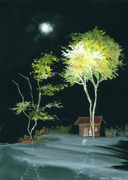 Painting - Drive Inn by Anil Nene
