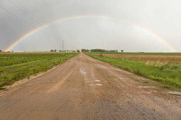 Photograph - Drive Through A Country Rainbow by James BO Insogna