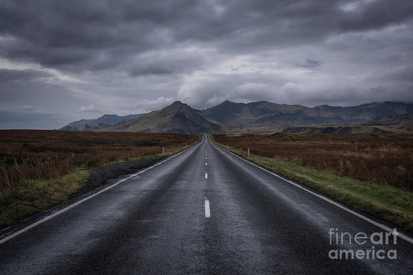 Photograph - Drive Thru Iceland  by Michael Ver Sprill