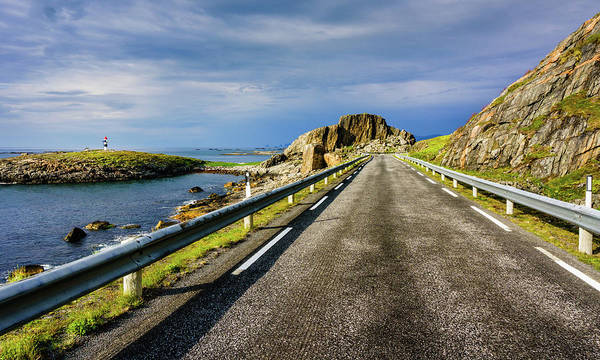 Photograph - Driving Along The Norwegian Sea by Dmytro Korol