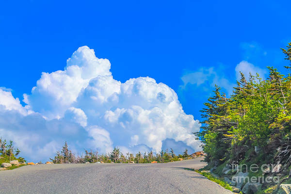 Straight Ahead Wall Art - Photograph - Driving Into The Clouds by Claudia M Photography