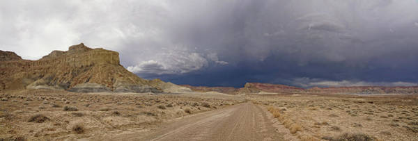 Photograph - Driving Into The Storm by Leda Robertson