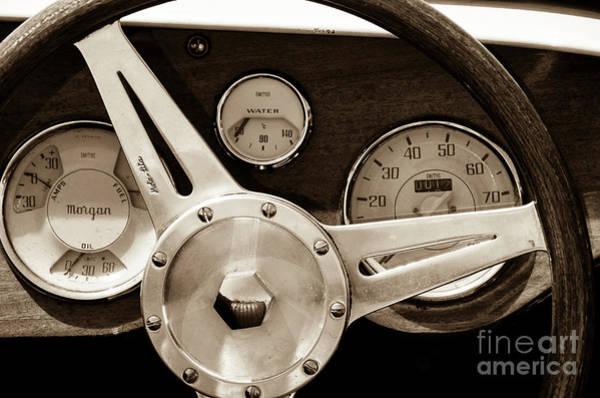Fuel Element Photograph - Driving  Morgan by Bob Zuber
