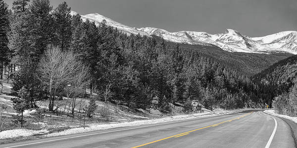 Wall Art - Photograph - Driving Peak To Peak Panoramic View by James BO Insogna