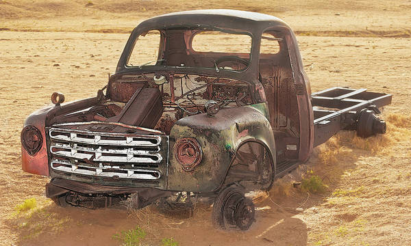 Photograph - Drought And '51 Studebaker by Scott Cordell