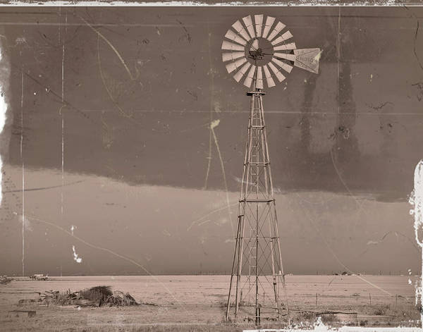 Photograph - Drought Vintage by Scott Cordell