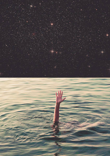 Beautiful Sky Digital Art - Drowned In Space by Fran Rodriguez