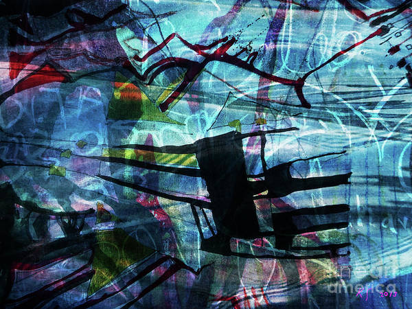 Drowned Princess Ix Art Print