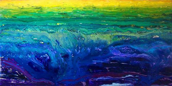 Wall Art - Painting - Drowning Sorrows by Desiree Soule