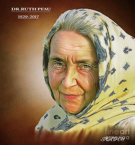 Digital Art - Dr.rauth Pfau by Sajid Ch