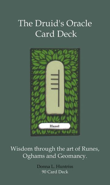 Tarot Deck Digital Art - Druid Oracle Deck 1 by Donna Huntriss