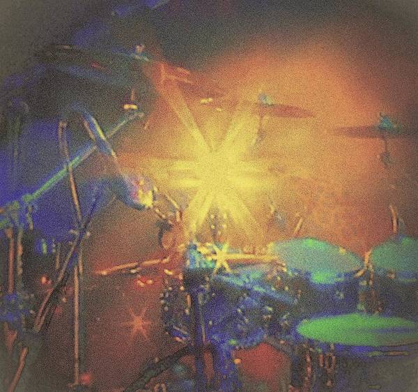 Clear Coat Wall Art - Photograph - Drum Kit Set Up  by Rosemarie E Seppala