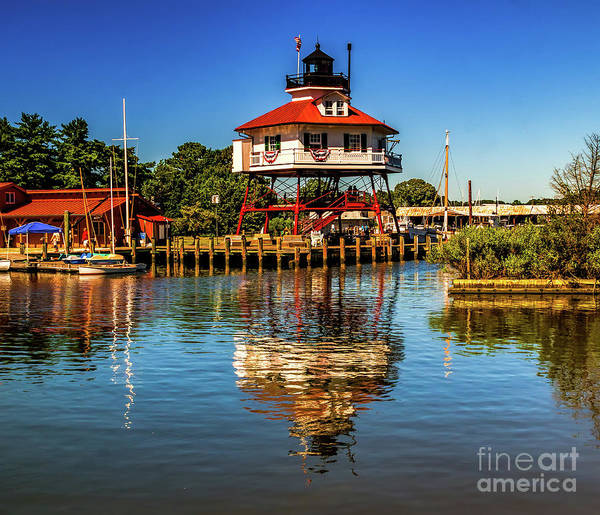 Photograph - Drum Point Lighthouse by Nick Zelinsky