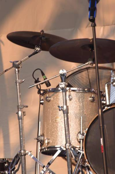 Photograph - Drum Set by Buddy Scott