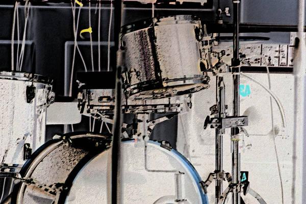 Drummin Art Print