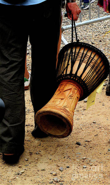 Photograph - Drumming Santa Fe by Mary Kobet