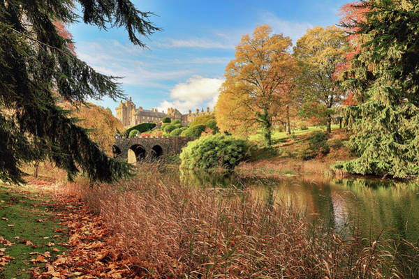 Photograph - Drummond Castle Gardens by Grant Glendinning