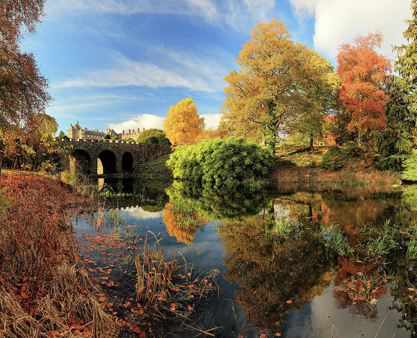Photograph - Drummond Garden Reflections by Grant Glendinning