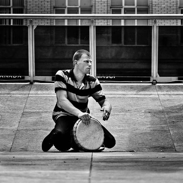 Wall Art - Photograph - Drums Across The Square  #toronto by Brian Carson