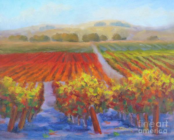 Painting - Dry Creek by Carolyn Jarvis