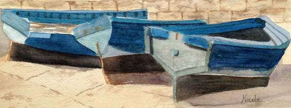 Wall Art - Painting - Dry Dock by Nicole Curreri