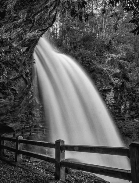 Photograph - Dry Falls-bw by Joye Ardyn Durham
