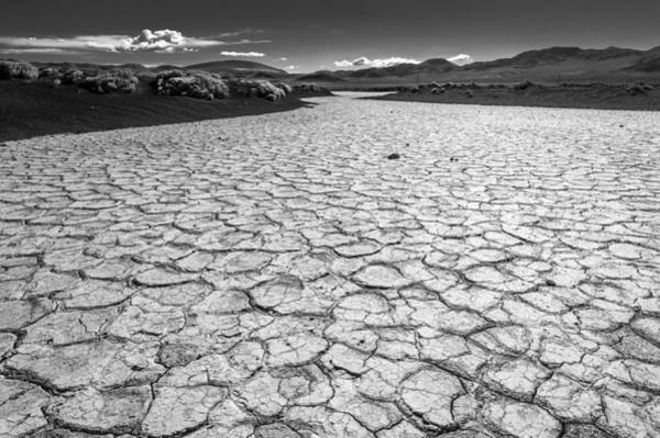 Photograph - Dry Lake Playa by Cat Connor