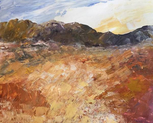 Painting - Dry River by Norma Duch