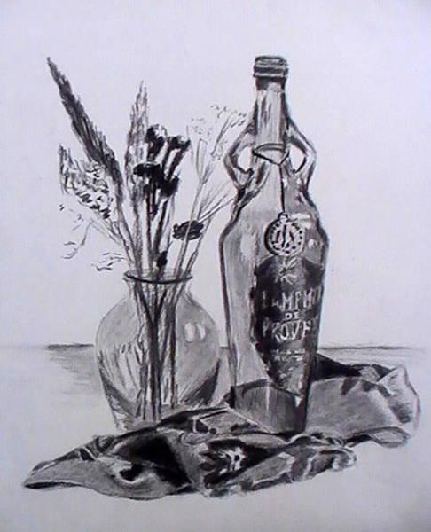 Drawing - Dry Season by Toon De Zwart