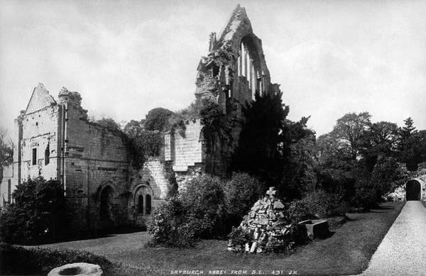Photograph - Dryburgh Abbey by Lee Santa