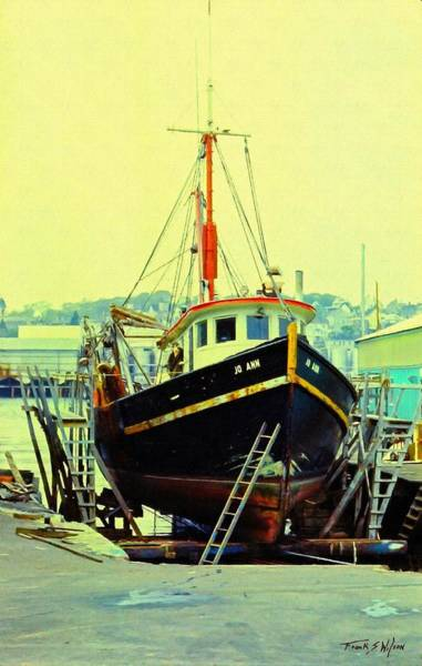 Photograph - Drydock by Frank Wilson
