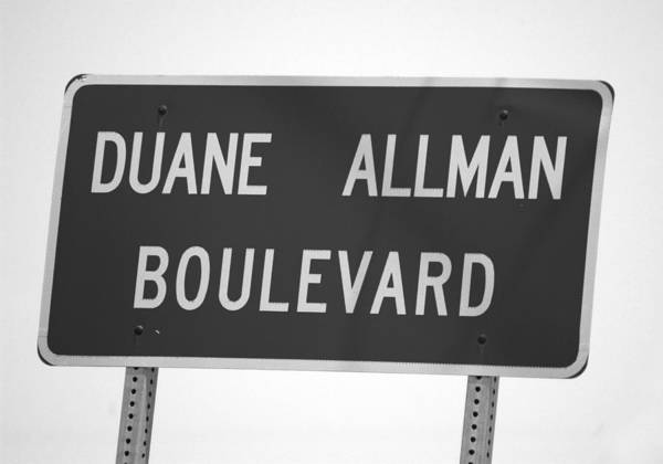 Allman Brothers Band Photograph - Duane by Glenn Grossman