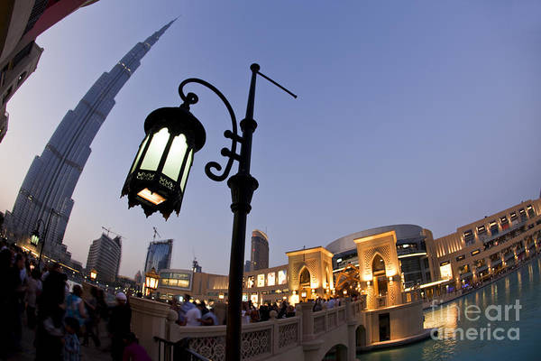Photograph - Dubai Burj Khalifa by Juergen Held