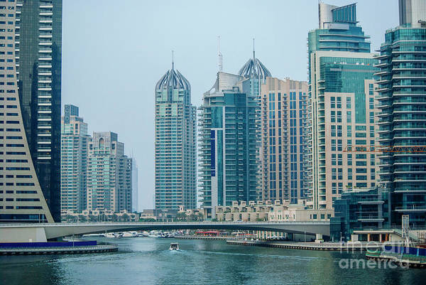 Photograph - Dubai Marina Cityscape by Jelena Jovanovic