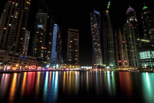Photograph - Dubai Marina by Mike Dunn