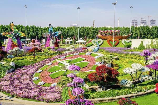 Wall Art - Photograph - Dubai Miiracle Garden by Alexey Stiop