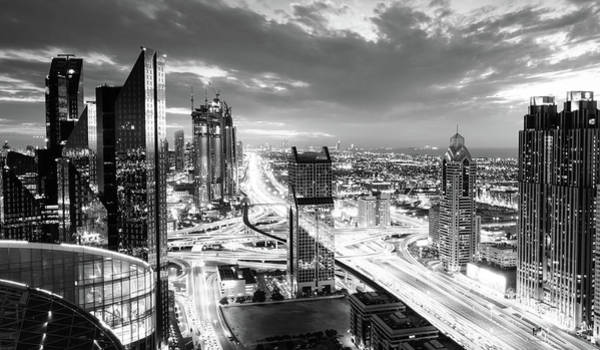 Wall Art - Photograph - Dubai Rush Hour by Alexey Stiop