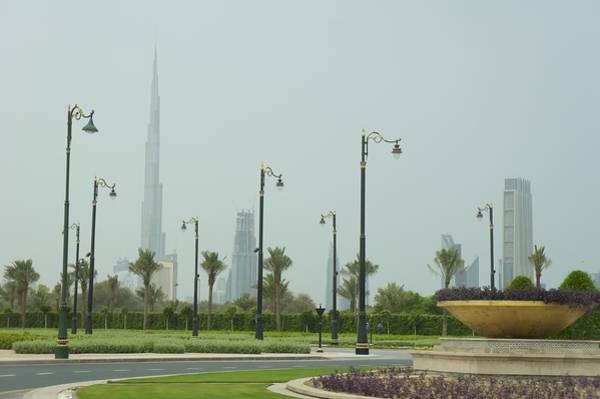 Wall Art - Photograph - Dubai Skyline by Art Spectrum