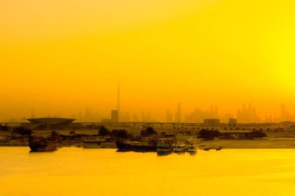 Photograph - Dubai Sunrise by SR Green