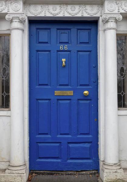 Photograph - Dublin Blue Door by Georgia Fowler