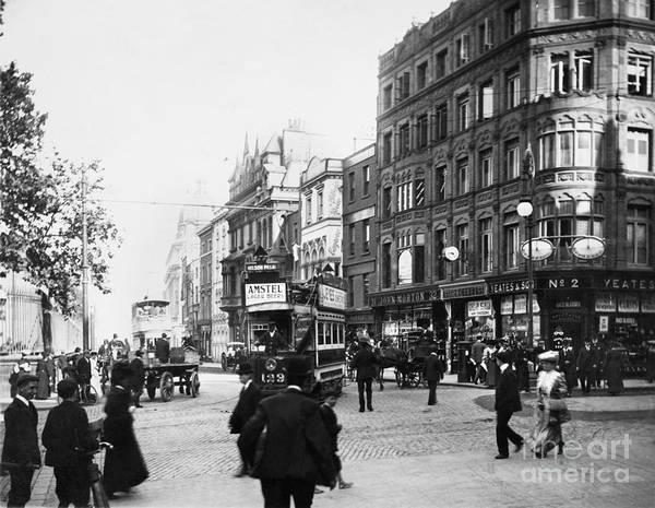 Photograph - Dublin: Nassau Street by Granger