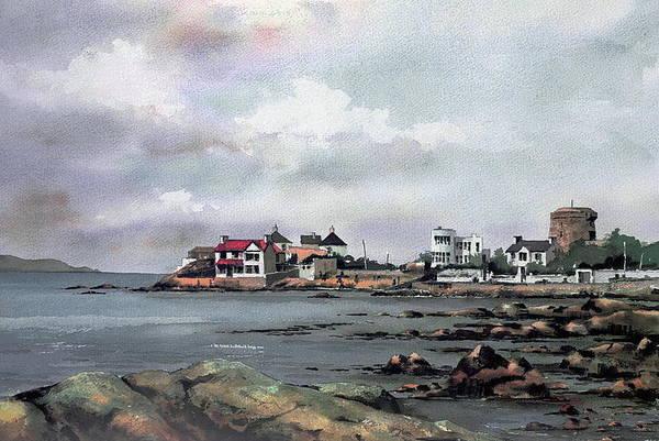 Painting - Dublin.... Sandycove by Val Byrne