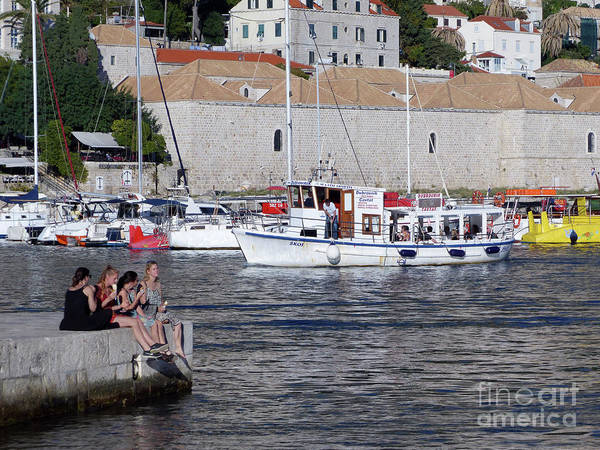 Photograph - Dubrovnik Afternoon by Phil Banks