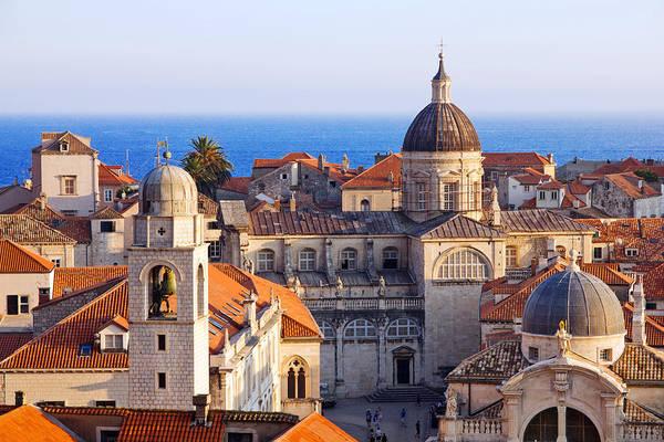 Dubrovnik Photograph - Dubrovnik, Croatia, City Roofs by Long Shot